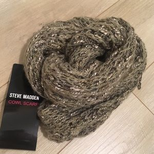 Steve Madden Infinity Cowl Crescent Scarf